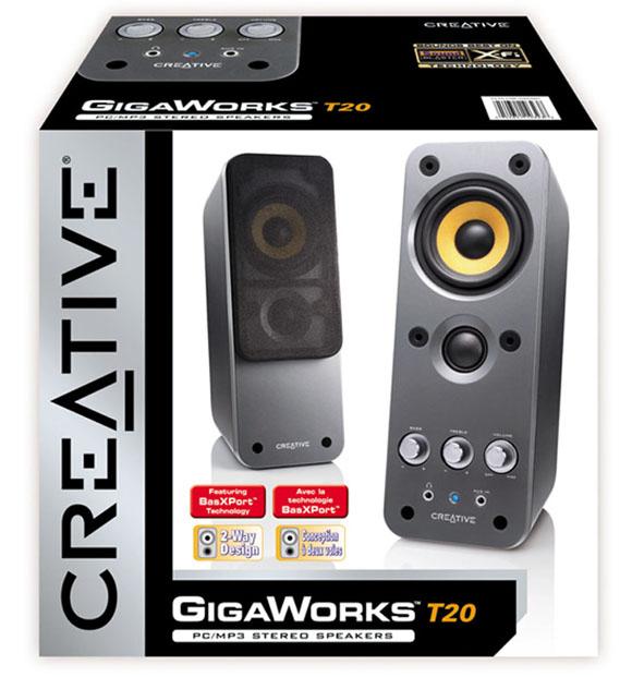 Creative GigaWorks T20 - kompaktní repro s velkým zvukem