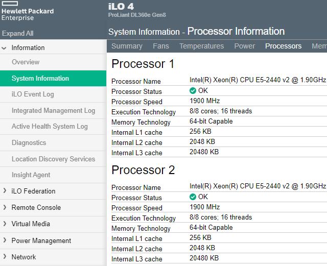 Máme ve stroji dvě CPU, o čtyři ventilátory víc a hodně paměťových modulů