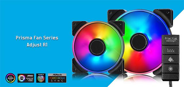 Fractal Design Define S2 Vision: první skříň švédů s RGB LED