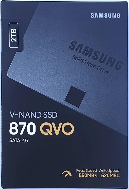 SSD disk Samsung 870 QVO 2TB: Solidní kapacita i cena, ale...