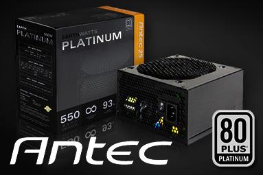 Antec Earthwatts Platinum 550 W: nejlevnější platinový
