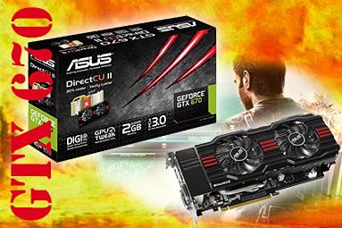 Grafika Asus GeForce GTX 670 DCU II – překoná i GTX 680