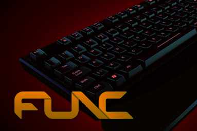Func KB-460: herní mechanická klávesnice má smysl