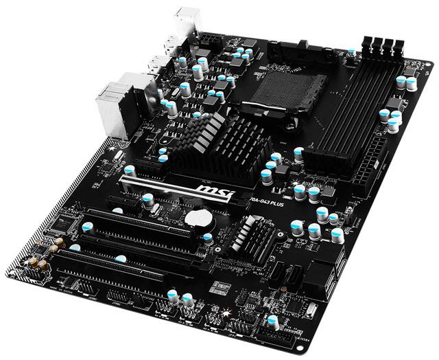 MSI představilo základní desku 970A-G43 Plus se socketem AM3+ a cenovkou pod 100 dolarů