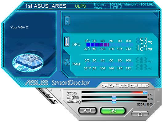 ASUS ARES – dvoujádrové grafické monstrum