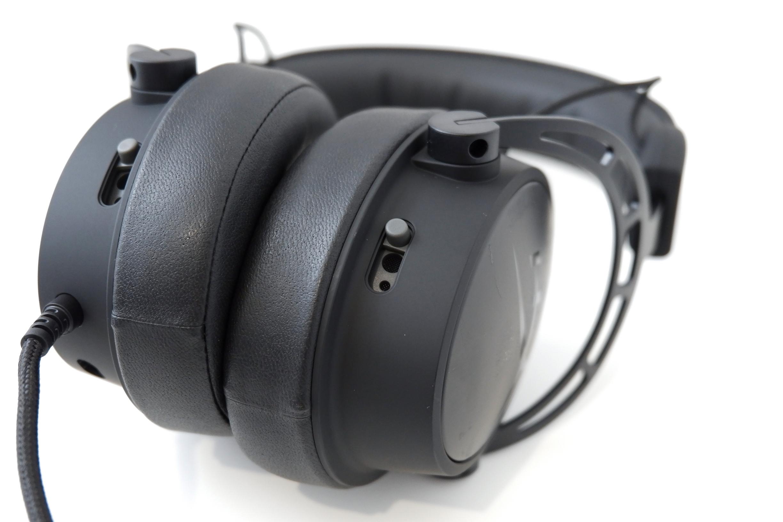 HyperX Cloud Alpha S Blackout edice - herní slechy do nepohody