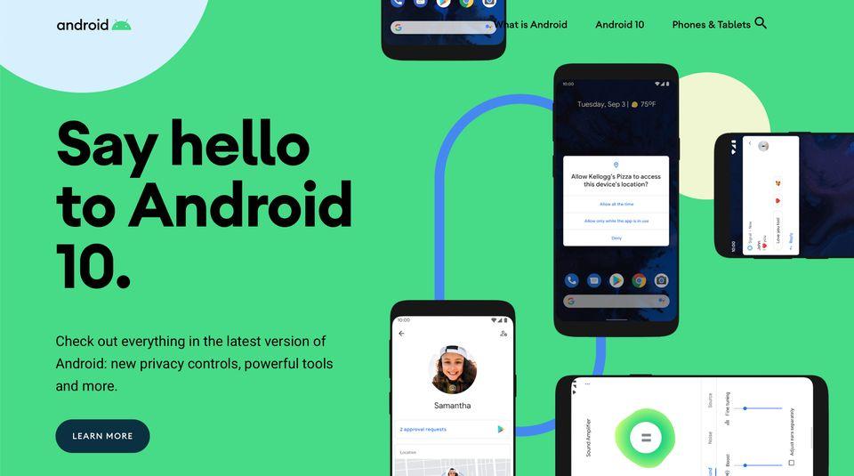 Google vydal finální verzi operačního systému Android 10