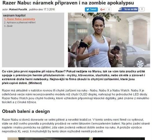 Razer Nabu: náramok pripravený aj na zombie apokalypsu