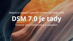 Došlo k vydání operačního systému DSM 7.0
