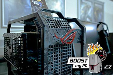 Boost My PC 5: ve znamení oceli a army stylu s TUF