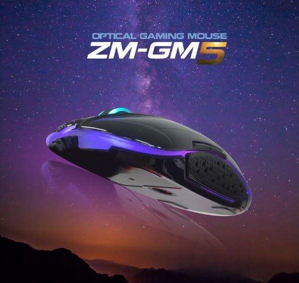 Zalman ZM-GM5 je cenově dostupná myš pro hráče