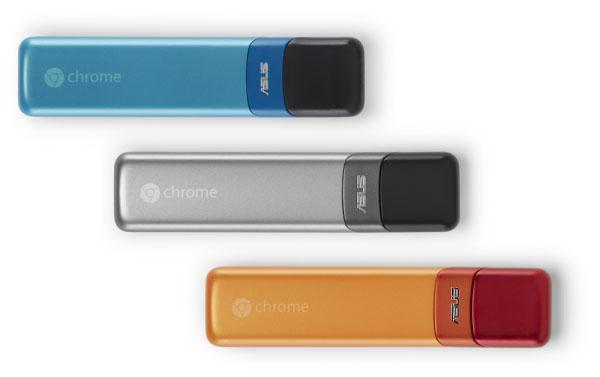 Google a ASUS navázali spolupráci za účelem vývoje Chromebit, mikropočítače velikosti flash disku