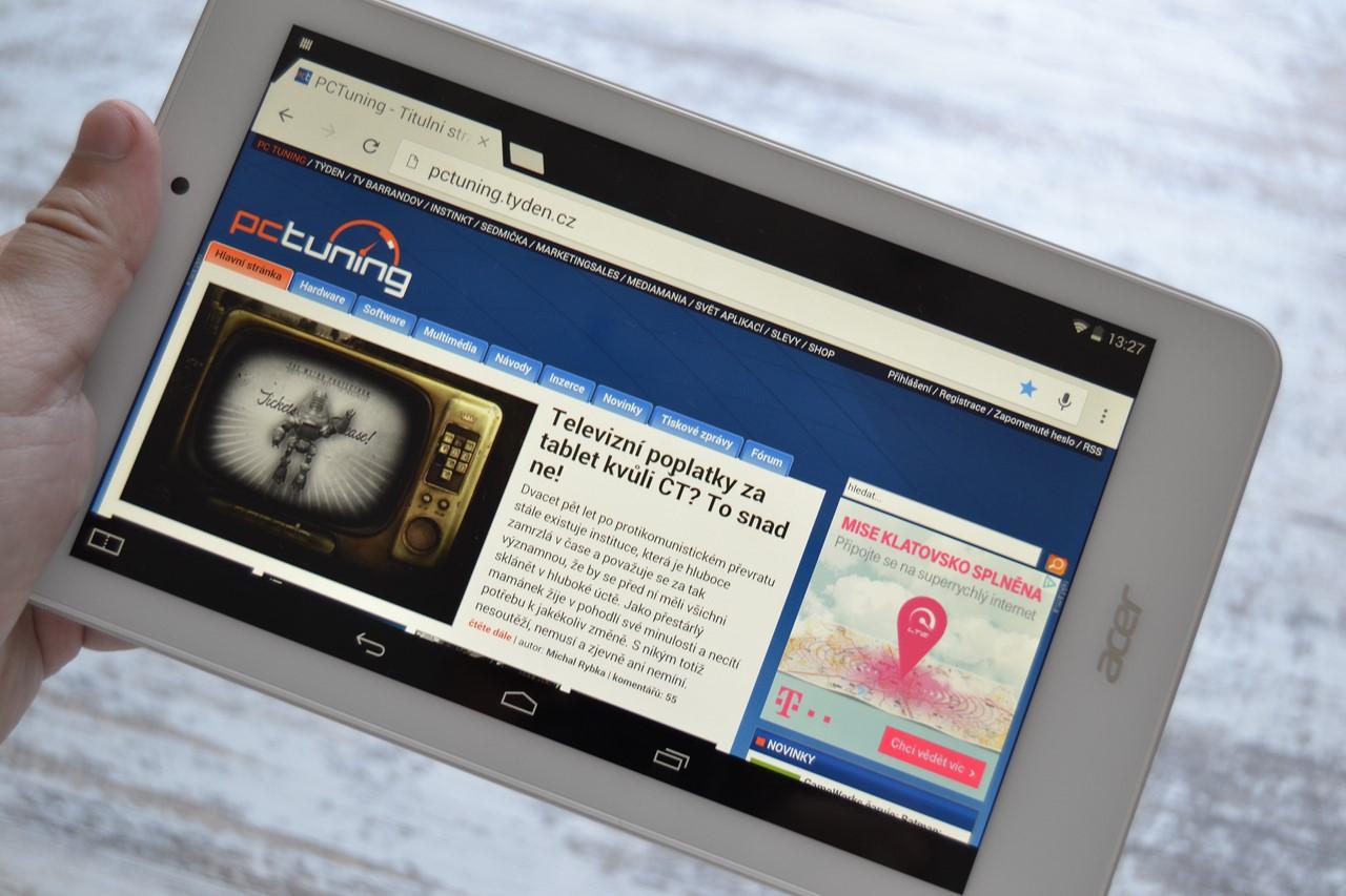 Tablety s Androidem a Bay Trail: přeborníci v poměru cena/výkon