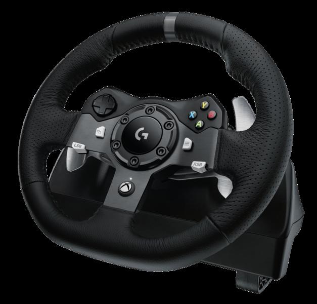 Volant Logitech G920 Driving Force v testu: hravější a dětinštější
