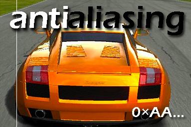 Antialiasing — teoretický i praktický test vyhlazování hran