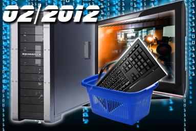 Doporučené sestavy a monitory – únor 2012