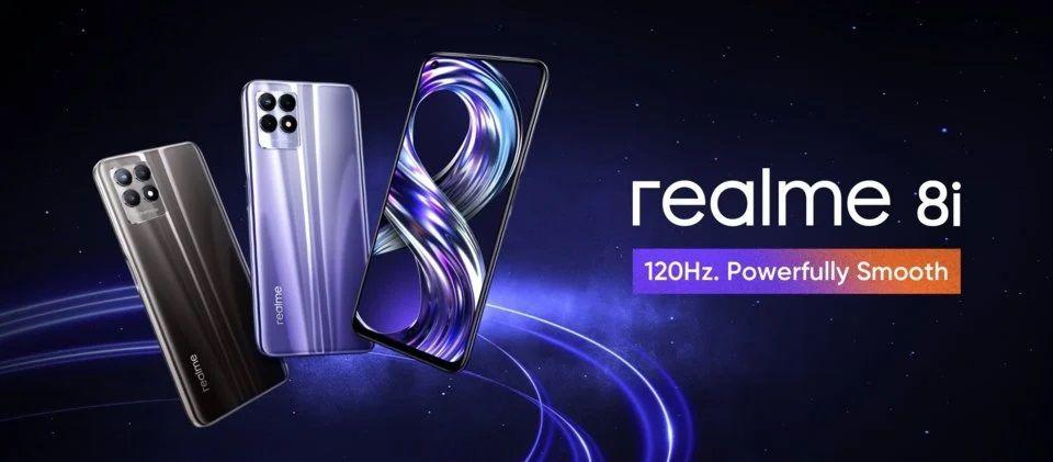 Das neue Realme 8i kommt für weniger als fünftausend in den Verkauf