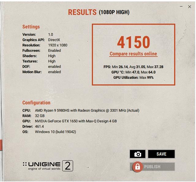 GeForce GTX 1650 Max-Q