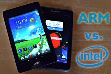 ARM vs. Intel: Který je lepší do levných tabletů?