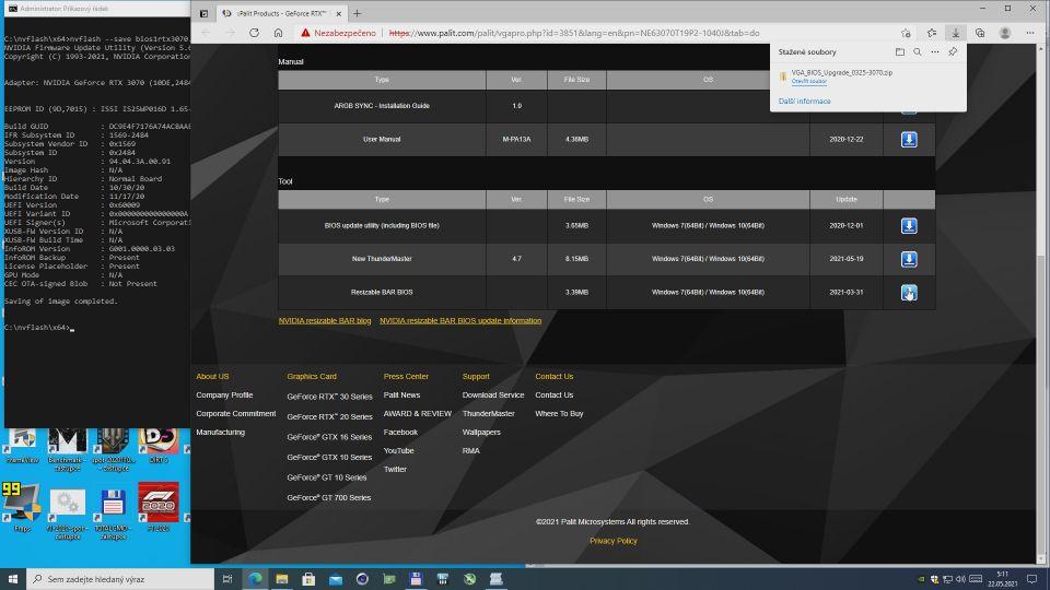 GeForce a reBAR: Jak na flash BIOSu a na hry bez podpory
