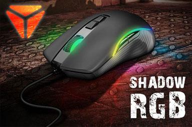 Yenkee Shadow RGB: zajímavá a levná herní myš