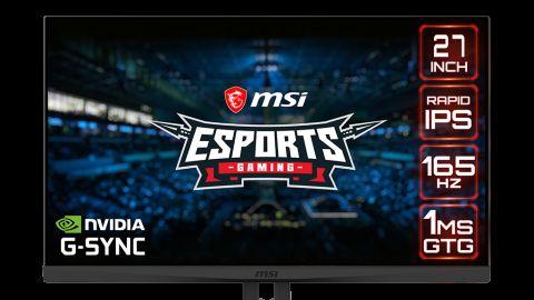 Nový monitor od MSI využívá Rapid IPS panel
