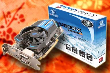 Sapphire Radeon HD 5770 Vapor-X: tichá ledová bestie