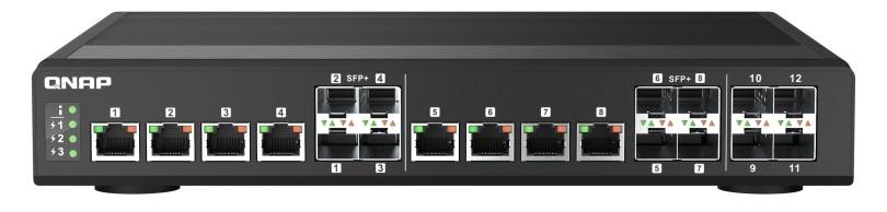 QNAP QSW-IM1200-8C: nový 10GbE switch průmyslové třídy
