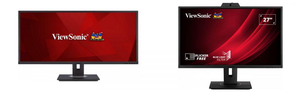ViewSonic představil monitory VG2440V, VG2740V, VG3456 a VA1655