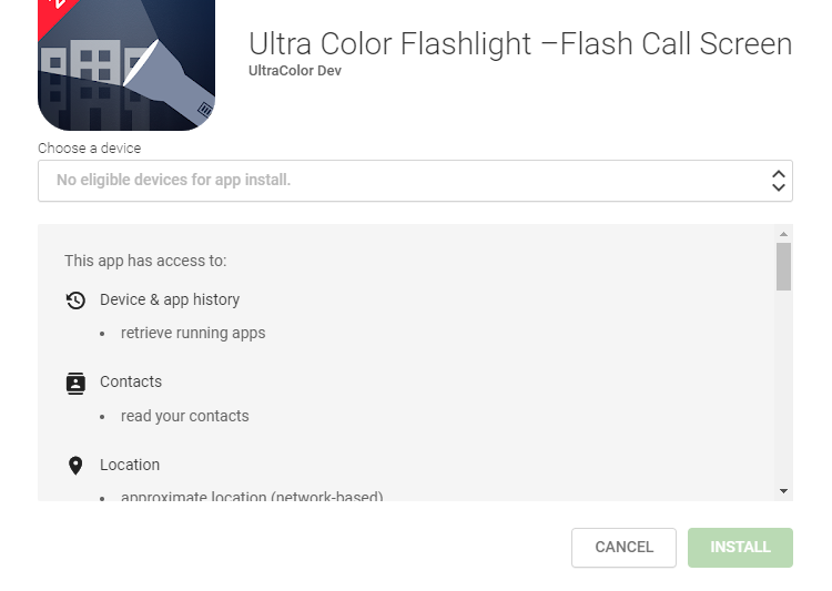 Pozor na to, co stahujete: svítilny pro Android vyžadují až 77 oprávnění k přístupu
