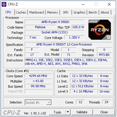 Ryzen 9 3900XT: Refresh dvanáctijádra a herní výkon