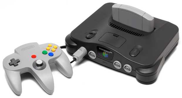 Nintendo 64 (zdroj: Wikipedia)
