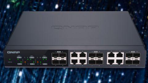 Switch QNAP QSW-M1208-8C — když potřebujete 10 GbE