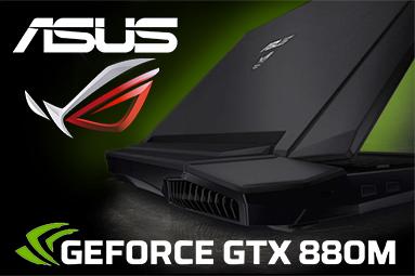 Notebook Asus G750JZ – monstrum s GeForce GTX 880M