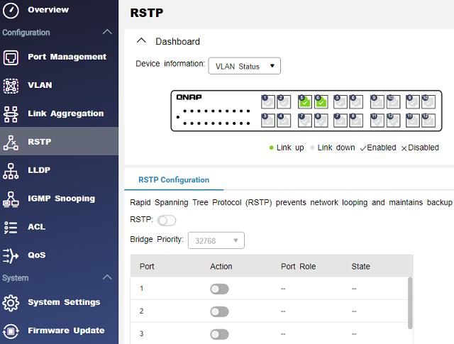 RSTP - ochrana proti smyčkám