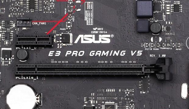 "Asus E3 PRO Gaming V5: Herní deska pro Intel ""Skylake"" Xeon"