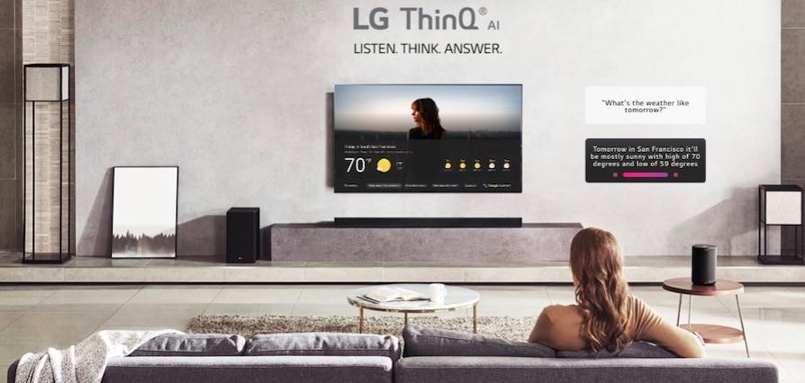 LG TV 2019 získávají podporu technologií Apple AirPlay 2 a HomeKit
