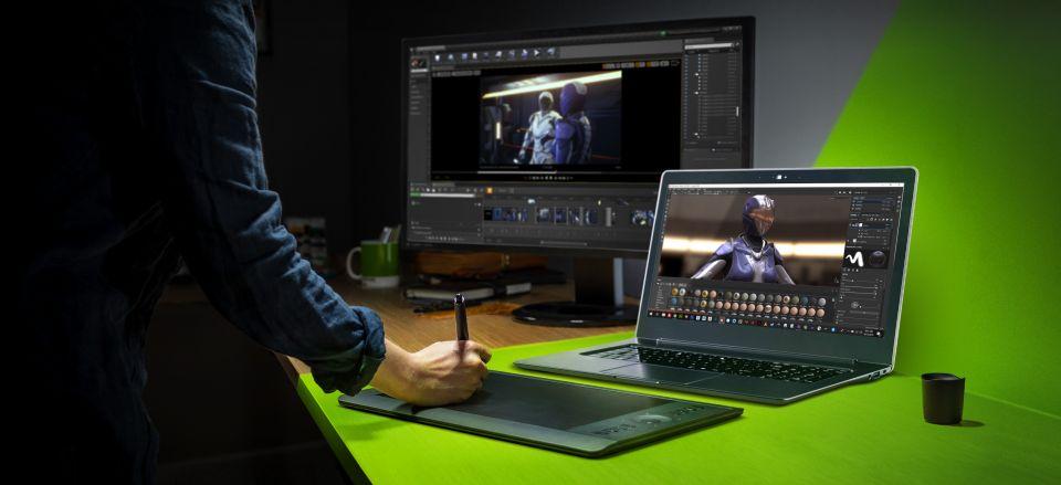 Nvidia Studio podpoří výkonnost 40 milionů tvůrců