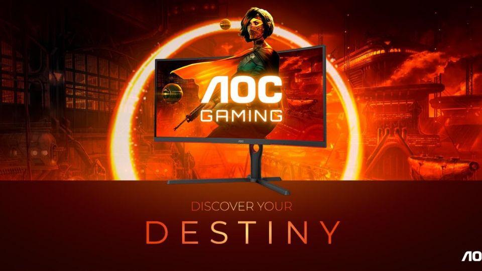 Monitory AOC G3 přináší 165 Hz a zakřivení 1000R