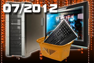 Doporučené sestavy a monitory – červenec 2012