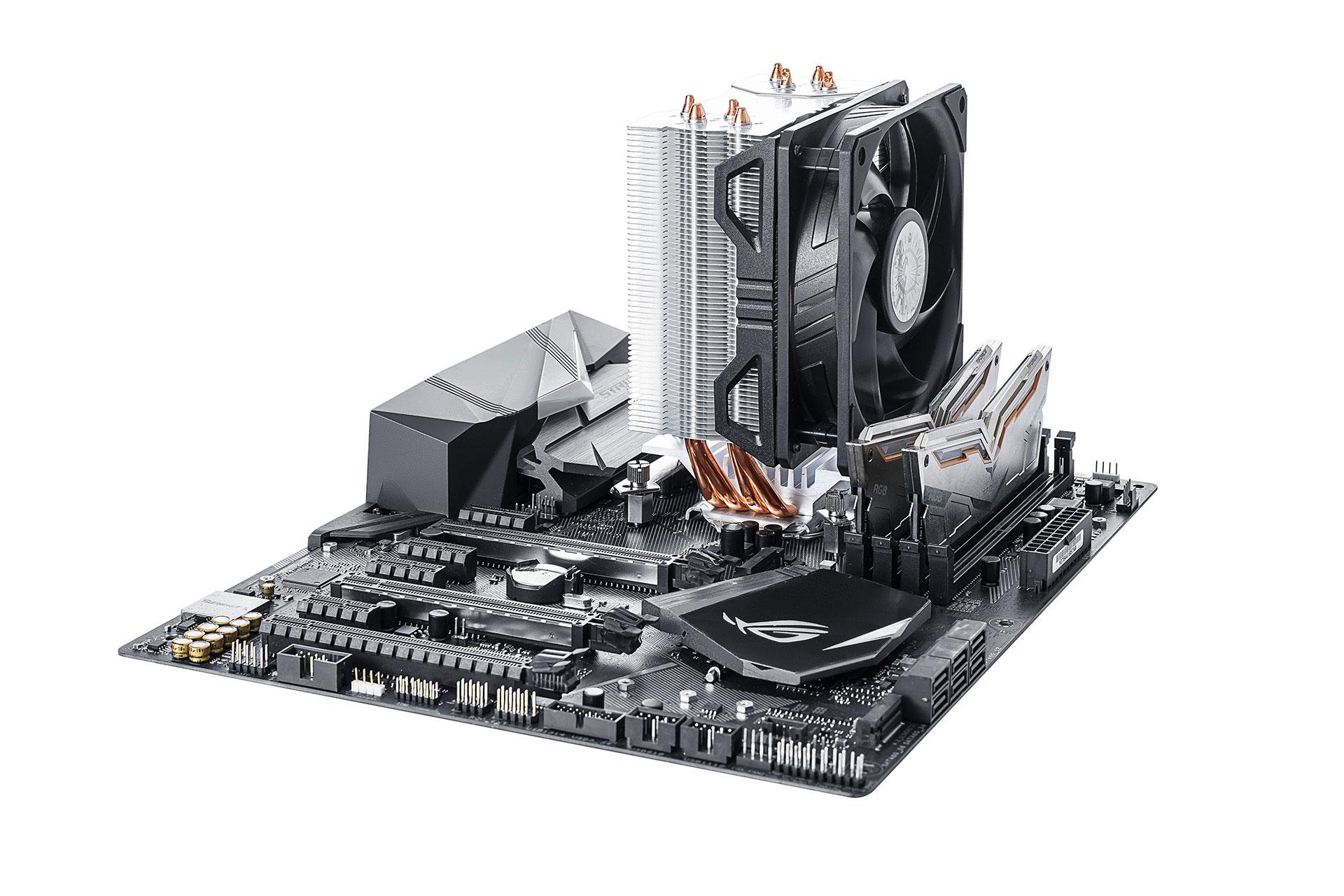 Procesorový chladič Cooler Master Hyper 212 EVO V2 zamíří do prodeje