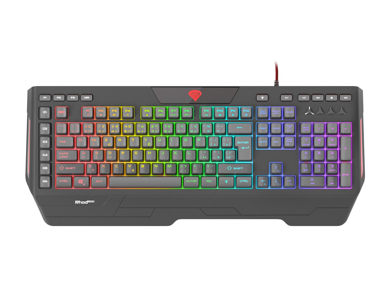 Klávesnice Genesis Rhod 600 je v prodeji, láká na RGB podsvícení