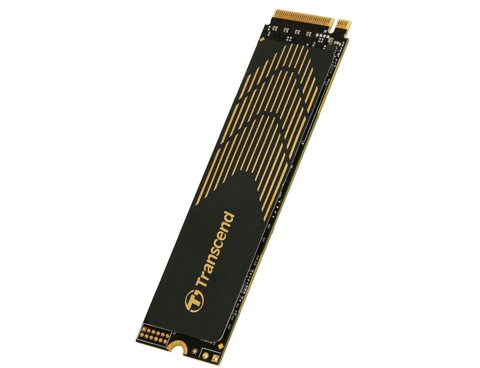 Transcend představuje M.2 NVMe SSD MTE240S s rozhraním PCIe Gen4