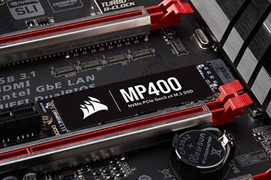 Corsair MP400: První dostupný 4TB disk pro M.2 na trhu