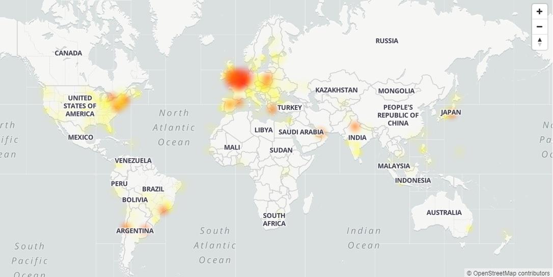 Google postihl výpadek služeb. Nefunguje GMail, YouTube a mnoho dalších