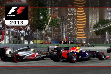Závody F1 2013 — solidní grafika i na běžném notebooku