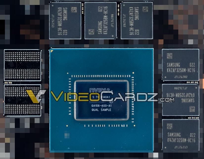 Nvidia GeForce RTX 3060 se obnažuje. Unikl detailní snímek čipu GA106