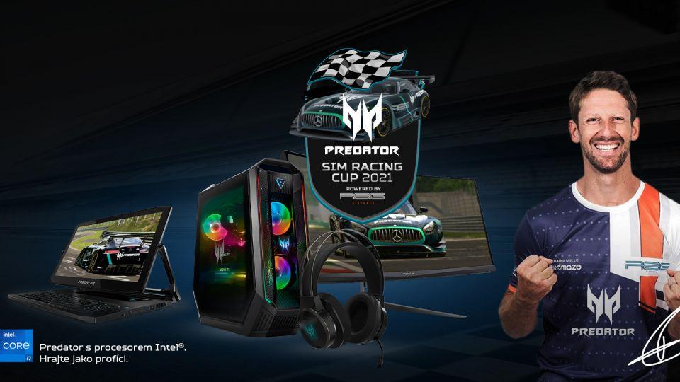 Acer zahajuje Predator Sim Racing Cup 2021 s šancí vyhrát výjimečný zážitek k nezaplacení