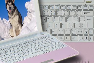 Asus Eee PC 1005PE — netbook (nejen) pro holky jak dělaný