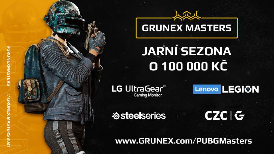 Grunex Masters v PUBG uzavře jarní sezonu o 100 000 Kč!